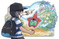 "Nintendo 3DS - ""Pokémon Sonne - Artworks""-Screenshot"